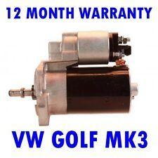 FITS VW GOLF MK3 MK III 1.4 HATCHBACK 1991 1992 1993 1994 - 1997 STARTER MOTOR
