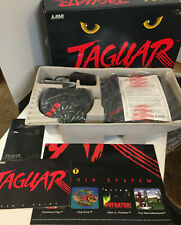 Atari Jaguar System Console (NTSC) J8001 New with Extra Controller/Cannon Fodder