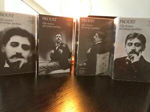 Proust - Alla ricerca del tempo perduto - I Meridiani Mondadori 2006 - 4 Volumi