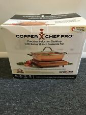 Copper chef pro precision induction cook top casserolel frypan