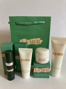 La Mer Set of 4 - Lifting Contour Serum, Soft Cream, Mask, Hand Treatment +