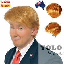 DONALD TRUMP Costume Wig Hair USA President POTUS Halloween Fancy Dress Party