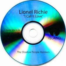 Lionel Richie: I Call It Love: The Shadow People Remixes PROMO MUSIC AUDIO CD 3t