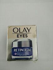 Olay eyes retinol 24 Night Eye Cream with Vitamin B3 Anti-Aging Brand 15ml