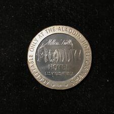 $5 1967 STERLING SILVER ALADDIN HOTEL, LAS VEGAS GAMING SLOT TOKEN Lot#A417