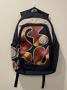 Rip Curl Wet Suits Backpack Bag Blue Patterned Print - 50cm