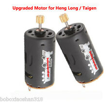 New  Heng Long Taigen upgraded motor 2 pcs  for 1/16 RC tank