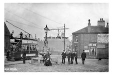 pt0200 - Tram at King Cross , Halifax , Yorkshire - photo 6x4