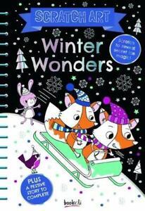 Winter Wonders (Scratch Art Fun) Book The Cheap Fast Free Post