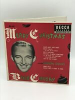 BING CROSBY & The Andrew Sisters~MERRY CHRISTMAS~DECCA ED-547-ep set-NICE~