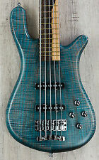 Warwick Custom Shop Limited Streamer LX 5 String Bass Bleached Ocean Blue