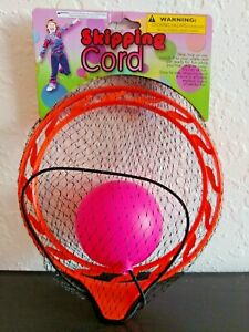 Skipping Ankle Cord Rope Jumping Toy With Ball Hop Run Outdoor Game for Kids