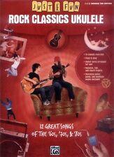 Just for Fun Rock Classics Ukulele Songbook Noten Tab