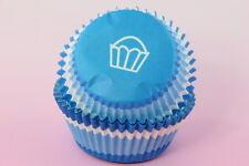 100x, 2'' Cupcake Liners, Baking Cups, Blue Swirl, Standard Size