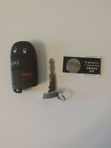 2011 2012 2013 2014 2015 2016 Dodge Charger Smart Remote  Key Fob w/new battery