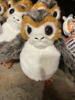 Disney Parks Star Wars Galaxy Edge Porg Puppet Talking Plush New with Tags