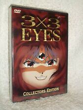 3x3 Eyes Collection (DVD, 2001, 2-Disc Set) anime about secret of immortality