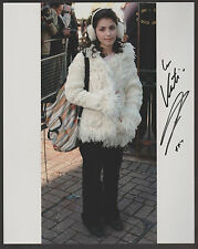 KATIE MELUA Signed 8 x 10 Color Photo AUTOGRAPH w/ COA Nice Pic & RARE AUTO