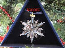 Swarovski 2006 Annual Snowflake Christmas Ornament ~~ NIB ~~ New In Box ~~ MIB