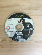 Grand Theft Auto (GTA) San Andreas for Microsoft Xbox *Disc Only*