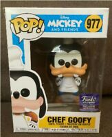 Funko POP! Disney Mickey Mouse Chef Goofy Limited Edition Hollywood Exclusive