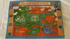 SNES ZELDA Karte, Spielkarte, Plan, Map, Zelda, A Link to the Past Karte, TOP!
