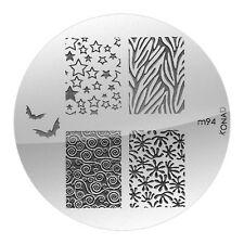 KONAD Stempelschablone Nail Art Image Plate M94 NEU&OVP
