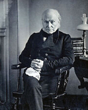 JOHN QUINCY ADAMS DAGUERROTYPE PORTRAIT 8x10 SILVER HALIDE PHOTO PRINT
