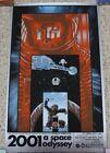 2001 A SPACE ODYSSEY SILVER FOIL MOVIE ART PRINT~TIM DOYLE~S&N OF 100~4/23/2011