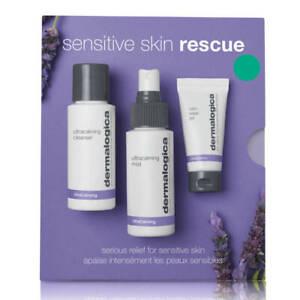 Dermalogica Sensitive Skin Rescue Kit-Calm,Smooth & Hydrate-3pc set-Free UK Post