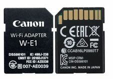 BRAND NEW CANON W-E1 Wi-Fi Adapter for EOS 7D Mark II, 5DS, 5DS R