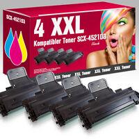 4 Toner für Samsung SCX4521FR SCX4521F SCX4321 SCX-4521D3