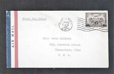 1932 Canada C3 6c Overprint First Day Cover to Ohio As Per Scan (Jn12)