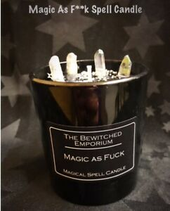 Magic As F**k Spell Candle ,pagan ,wiccan, Hoodoo