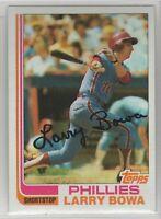 1982 Topps Baseball Philadelphia Phillies Team Set