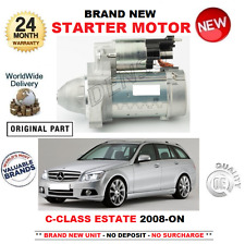 FOR MERCEDES BENZ C CLASS ESTATE STARTER MOTOR 2008-ON C180 C200 C220 C250 CDi