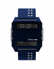 NEW VESTAL DIGICHORD NAVY WHITE SCUBA SURF SNOW SUP SPORTS WATCH
