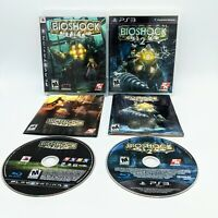 Bioshock 1 And Bioshock 2 PlayStation 3- PS3 Bundle/Lot