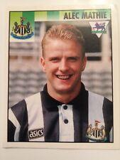 Merlin Premier League 95 Sticker No 334 Alec Mathie Newcastle United FC