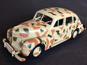 ★ COCHES MILITARES SEGUNDA GUERRA MUNDIAL - Opel Kapitan 1938 - ALTAYA - E 1:43