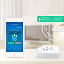 Wireless Smart Power WiFi Switch Monitor Real-time Power Consumption Measurement