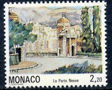 TIMBRE DE MONACO N° 1832 ** VUES DU VIEUX MONACO / LA PORTE NEUVE