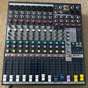 Soundcraft EFX 8 Mixer in SKB case