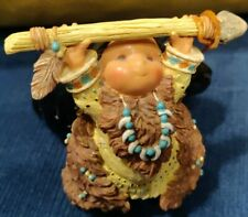New ListingEnesco Friends Of The Feather Figurine Bears Great Wisdom 1996 Karen Hahn