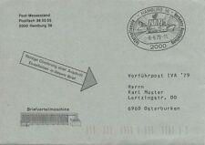Briefmarken-Ganzsachenaus der BRD aus Bundesrepublik mit Sonderstempel