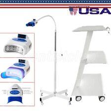 Dental Trolley Mobile Tool Cart Built In Socket Teeth Whitening Lamp Machine