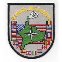 ORIGINAL KOSOVO KOSOVAN WAR KFOR SUBDUED NATO CLOTH PATCH