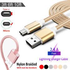 1m 2m 3m Cavo Dati Micro USB USB Carica Cavetto Per Samsung LG Huawei XiaoMi
