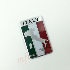AUTO Camion parti Trim Adesivo Decalcomania 3D Italia Italia IT BANDIERA LOGO BADGE EMBLEMA