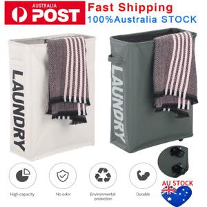 Large Foldable Laundry Washing Clothes Storage Bag Hamper Basket Bin Organiser